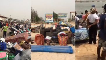 FG And Nigerian Army Forces Residents Out Of Their Homes At Tarkwa Bay In Lagos [Photos/Video] 5