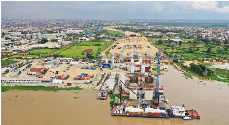 PHOTOS: Julius Berger Releases Fresh Images And Report On Progress Of Second Niger Bridge 1
