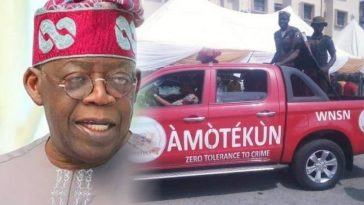 """Amotekun Not Threat To Nigeria's Unity"" — Tinubu Speaks On South-West Security Outfit 9"