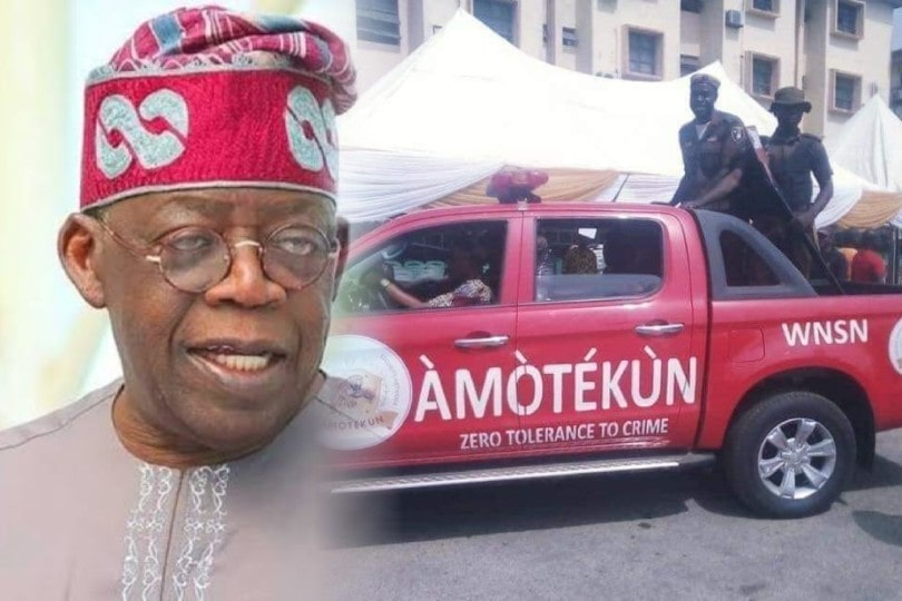 """Amotekun Not Threat To Nigeria's Unity"" — Tinubu Speaks On South-West Security Outfit 1"
