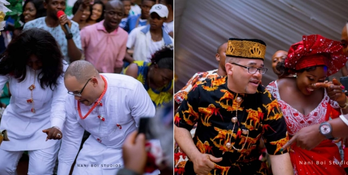 American Man Flies Down To Enugu To Wed His Nigerian Bride Whom He Meet On Social Media [Photos] 6