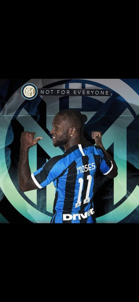 Victor Moses moves to Inter Milan, confirms loan rumours on Twitter 5