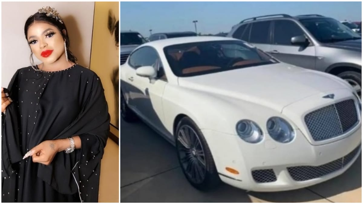 BREAKING: Bobrisky Reportedly Arrested By Police For Cross-Dressing, All His Cars Seized [Video] 1