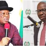 """No Man Can Unseat Your Husband As Edo Governor"" - Umahi Tells Obaseki's Wife 27"
