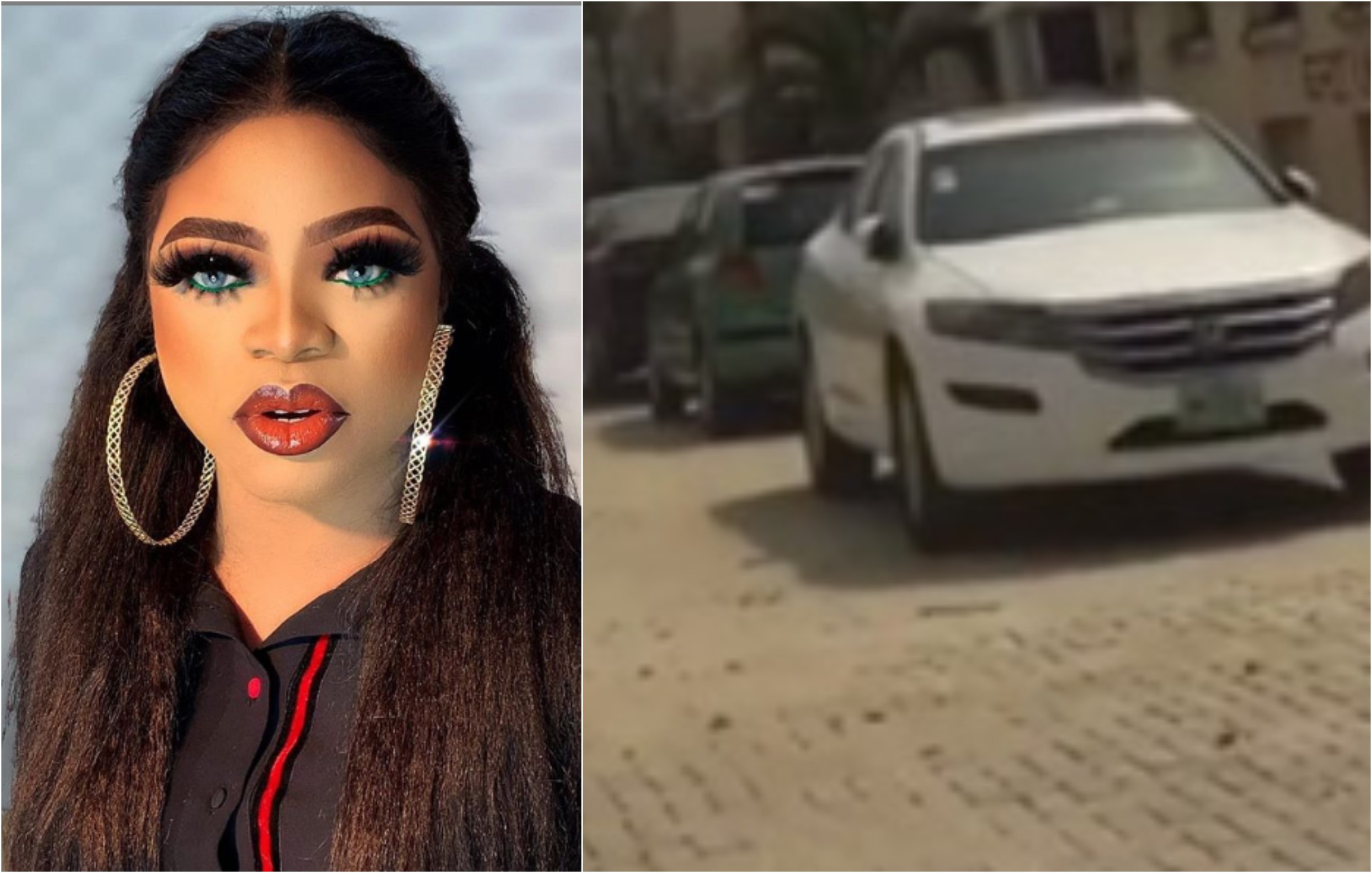 """Nobody Arrested Me Or Collected My Cars"" - Bobrisky Reacts To Viral Report [Video] 1"