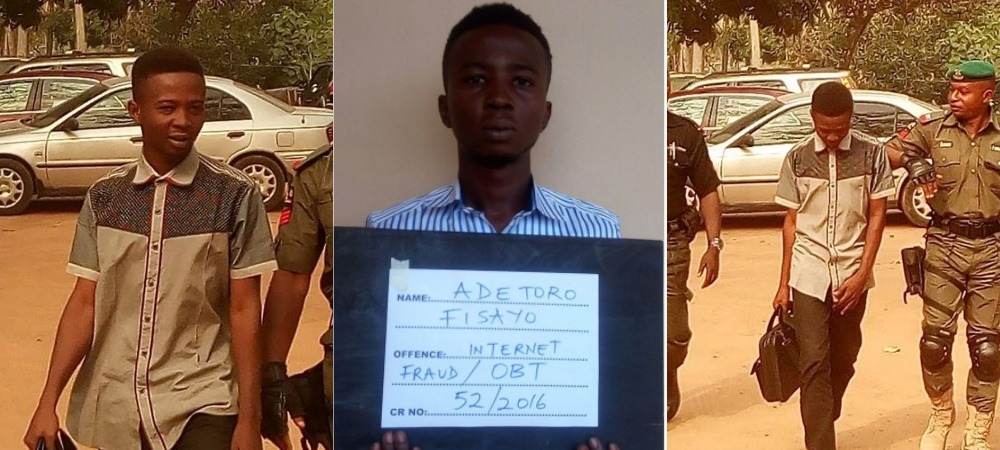 First Class Nigerian Student Sentenced To 13-Year Imprisonment Over Fraud In Ondo 1