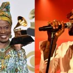 Burna Boy Loses Grammy Award To Angélique Kidjo, She Dedicates Her 'Best World Music' To Him 27