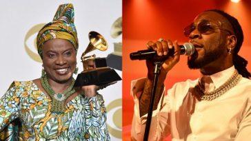 Burna Boy Loses Grammy Award To Angélique Kidjo, She Dedicates Her 'Best World Music' To Him 3