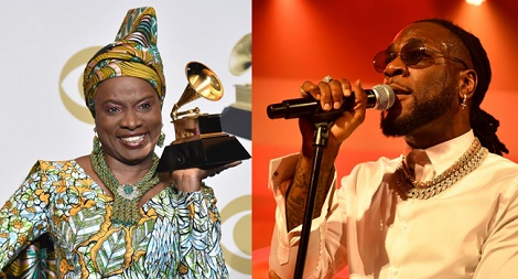 Burna Boy Loses Grammy Award To Angélique Kidjo, She Dedicates Her 'Best World Music' To Him 1