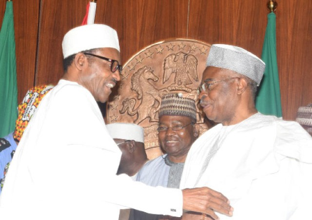 """""""Nigerians Have Confidence In Me, Your Opinion Does Not Matter"""" - Buhari Replies Danjuma 1"""