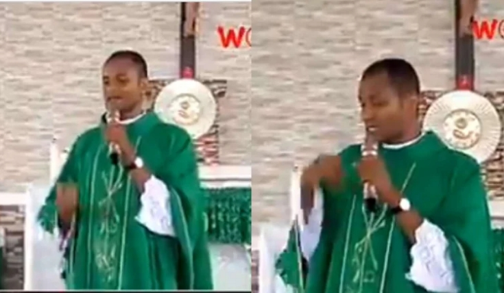 """""""President, Senators, Governors Are The Real Witches And Wizard In Nigeria"""" - Catholic Priest [Video] 1"""