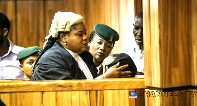 Maryam Sanda Weeps As Court Sentences Her To Death By Hanging For Killing Husband [Photos] 1