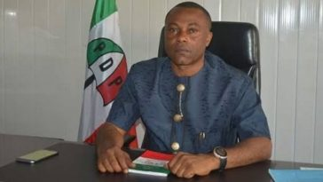 PDP Loses Big As State Chairman 'Charles Ezekwem' Leaves Party, Joins APC In Imo State 4