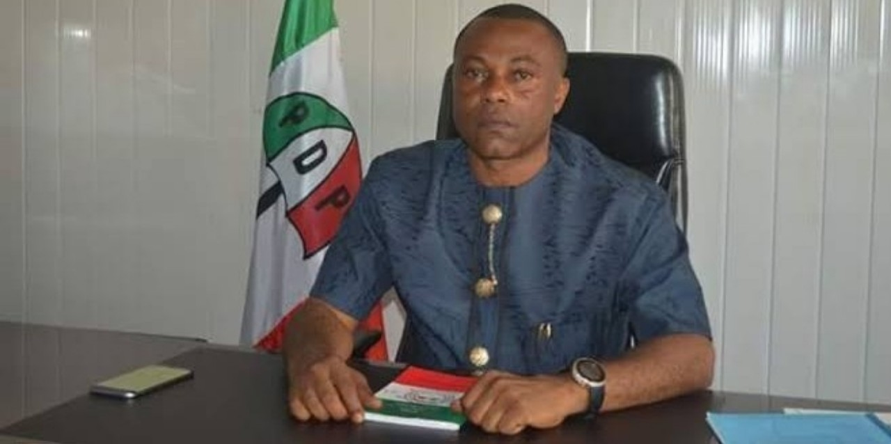 PDP Loses Big As State Chairman 'Charles Ezekwem' Leaves Party, Joins APC In Imo State 1