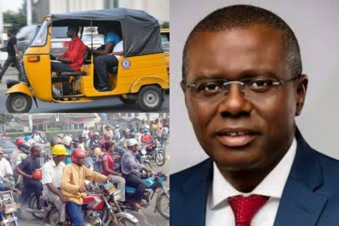 Lagos State Government Bans Okadas, Tricyles, Including Opay, Gokada 1
