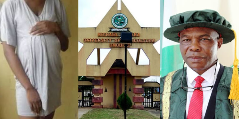 How Abia University VC Impregnated 300-Level Student, Upgraded Her To Final Year, Sent Her Abroad 1