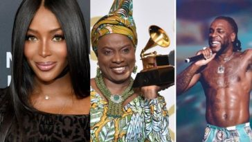 Naomi Campbell Calls Out Grammy Awards Organizers After Burna Boy's Loss To Angelique Kidjo 7
