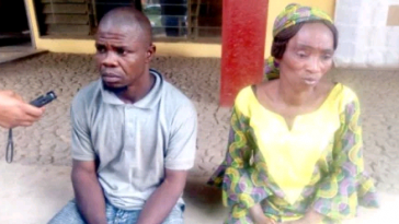 Nigerian Couple Ties Up Daughter To A Ceiling, Sets Her Private Part On Fire For Stealing N3,000 4