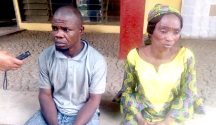 Nigerian Couple Ties Up Daughter To A Ceiling, Sets Her Private Part On Fire For Stealing N3,000 1