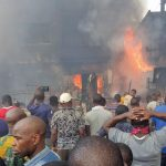 Another Fire Outbreak At Popular Balogun Market In Lagos Island [Video/Photos] 28