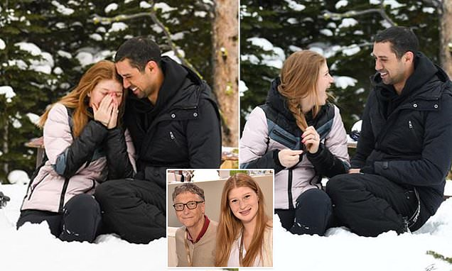 Bill Gates Daughter Jennifer Engaged To Egyptian Boyfriend Nayel Nasser 8