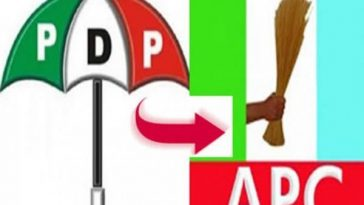 3000 PDP Members Including Chairman Defects To APC In Zamfara State 4