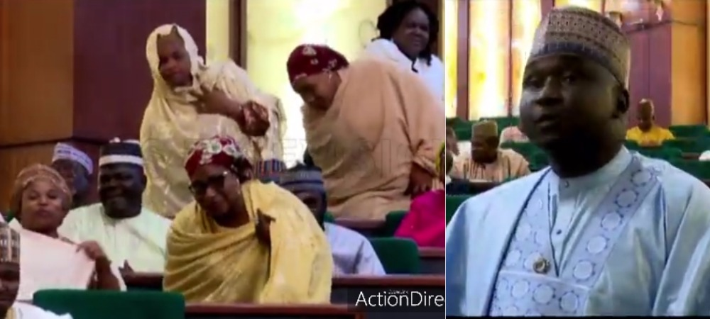 """""""I Have 4 Wife, 27 Children And Still Counting"""" – Kano Rep Show Off Family During Plenary [Video] 1"""