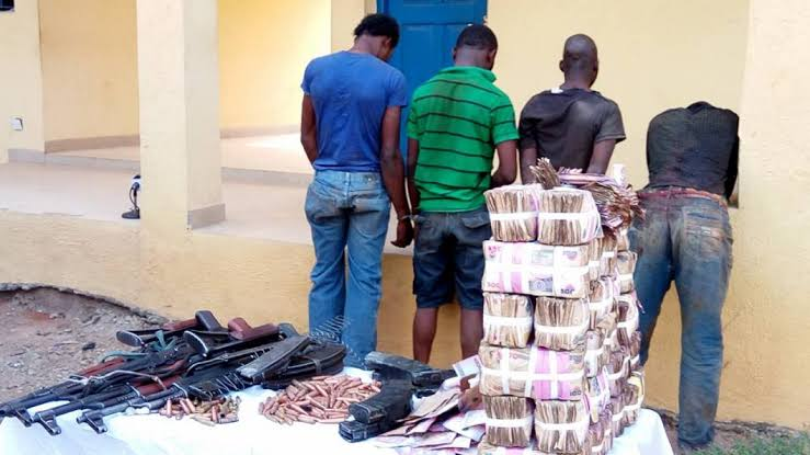 Three Armed Robbers Sentenced To Death By Hanging For Stealing N7 Million From Osun Bank 1