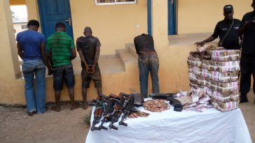 Three Armed Robbers Sentenced To Death By Hanging For Stealing N7 Million From Osun Bank 2