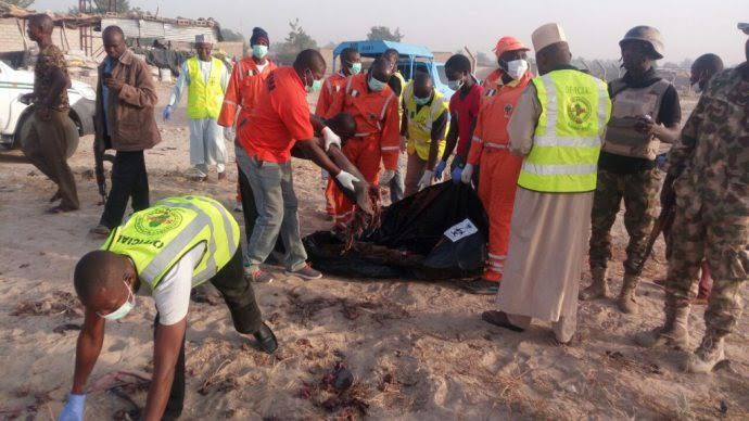 Boko Haram: 12-Year-Old Female Suicide Bomber Blow Up Herself And 3 Other Boys In Borno 1