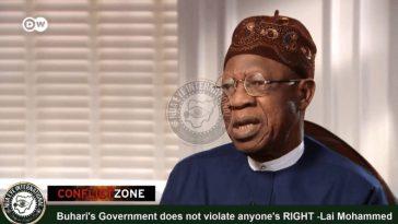 Despite Evidence, Lai Mohammed Denies Existence Of Social Media Bill In Nigeria [Video] 1