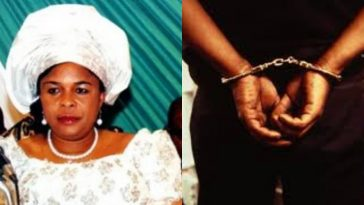 Patience Jonathan's Cousin, Victor Oba Arrested For Attempting To Kill His Girlfriend In Bayelsa 1
