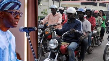 Lagos Government Defends Okada Ban, Says 'Our Youths No Longer Learn Tailoring, Bricklaying' 7