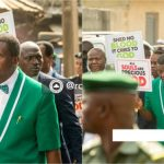 Pastor Adeboye Leads Church Members To Protest Against Killings, Insecurity [Photos/Video] 29