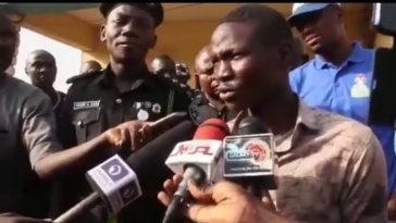 """My Name Is Nathaniel Samuel, I'm Supposed To Be A Pastor At Living Faith"" - Suicide Bomber [Video] 4"