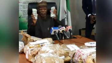 Nigerian Customs Intercept NAHCO Bus Carrying $8.6 Million Cash At Lagos Airport [Photos] 4