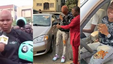 Gokada Rider Who Says She Can't Do Prostitution, Gets A New Car From Kokun Foundation [Video] 1