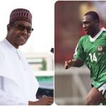 President Buhari Appoints Daniel Amokachi As Nigeria's Football Ambassador 28