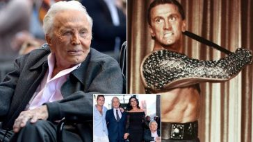 Hollywood Legend And Spartacus Actor, Kirk Douglas Dies At Age Of 103 4