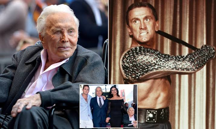 Hollywood Legend And Spartacus Actor, Kirk Douglas Dies At Age Of 103 1