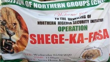 Amid Amotekun Controversy, North Launches Own Security Outfit 'Operation Shege-Ka-Fasa' 5
