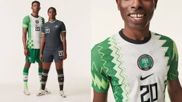 Nike Unveils New Kits For Nigerian Football Teams, Design Inspired By Traditional Agbada [Photos] 5