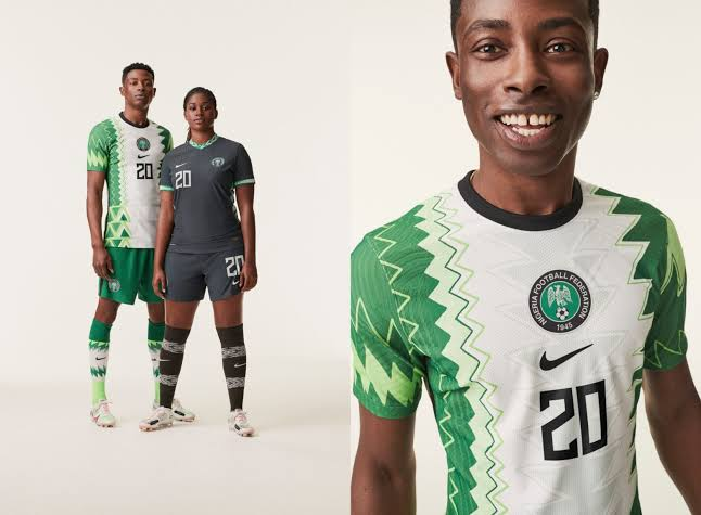 Nike Unveils New Kits For Nigerian Football Teams, Design Inspired By Traditional Agbada [Photos] 1