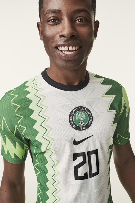 Nike Unveils New Kits For Nigerian Football Teams, Design Inspired By Traditional Agbada [Photos] 2