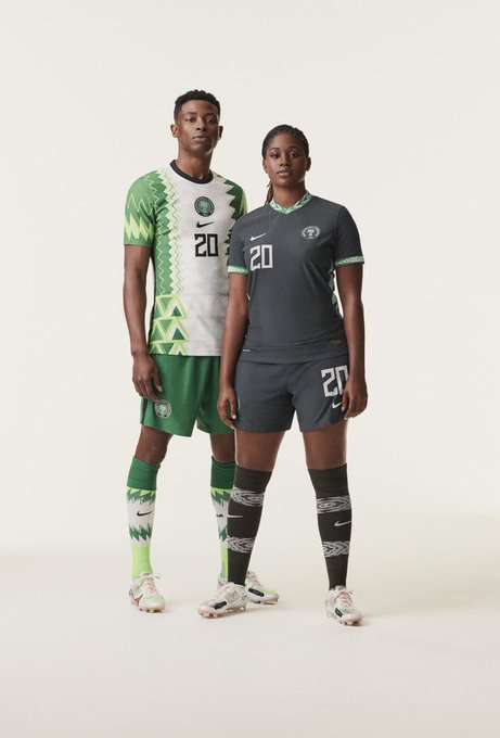 Nike Unveils New Kits For Nigerian Football Teams, Design Inspired By Traditional Agbada [Photos] 3