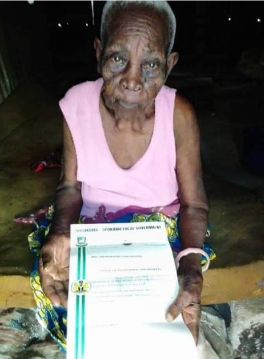 118-Year-Old Woman Appointed As Special Adviser In Bayesla State [Photos] 1