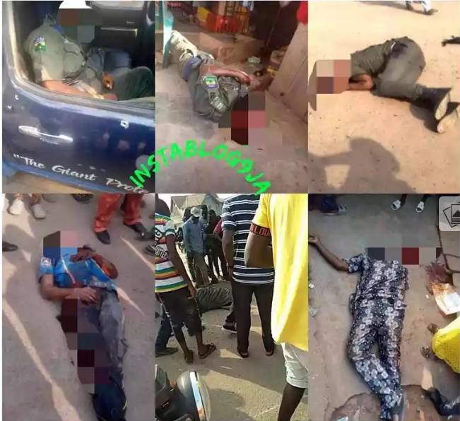 Armed Robbers Attacks Two Banks In Ondo, Kills Four Persons Including Policemen [Photos] 3