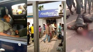 Armed Robbers Attacks Two Banks In Ondo, Kills Four Persons Including Policemen [Photos] 2