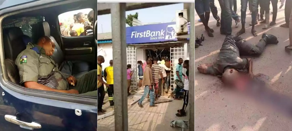 Armed Robbers Attacks Two Banks In Ondo, Kills Four Persons Including Policemen [Photos] 1