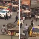 Drama As Policemen Arrests Fellow Officers For Collecting Bribes From Motorists In Lagos [Video] 27